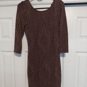 Charlotte Russe Bodycon Mini Dress long sleeve